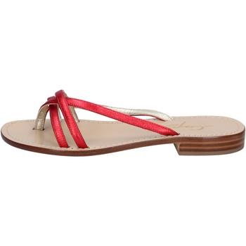 kengät Naiset Sandaalit ja avokkaat Soleae Sandaalit BY501 Punainen