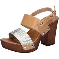 kengät Naiset Sandaalit ja avokkaat Made In Italia Sandaalit BY516 Hopea
