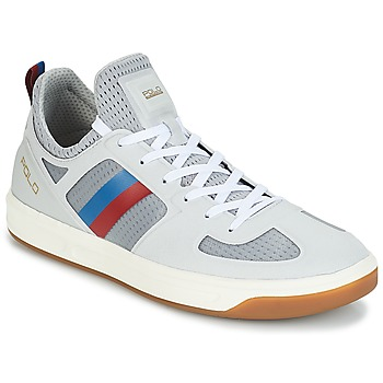 kengät Miehet Matalavartiset tennarit Polo Ralph Lauren COURT 201 Grey