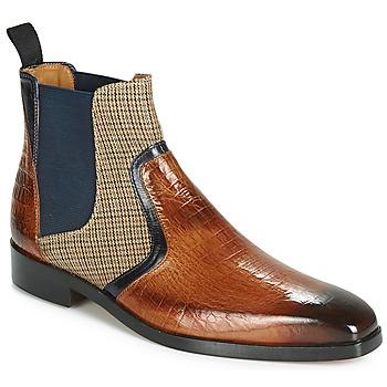 kengät Miehet Bootsit Melvin & Hamilton LEWIS 26 Brown / Laivastonsininen