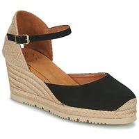 kengät Naiset Sandaalit ja avokkaat Unisa CACERES Musta