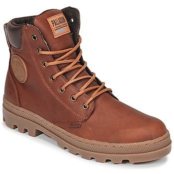 kengät Miehet Bootsit Palladium PALLABOSSE SC WP Brown