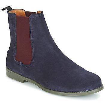 kengät Naiset Bootsit Sebago CHELSEA DONNA SUEDE Laivastonsininen