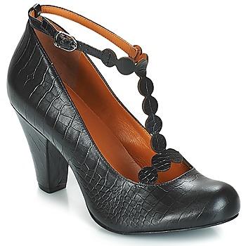 kengät Naiset Korkokengät Cristofoli PORUZ Black