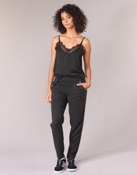 vaatteet Naiset Reisitaskuhousut Ikks MIRSSEEP Black