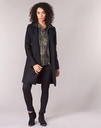 vaatteet Naiset Paksu takki Ikks AFTER Black