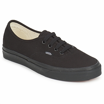 kengät Matalavartiset tennarit Vans AUTHENTIC Black