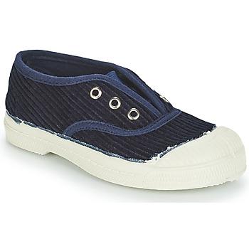 kengät Lapset Matalavartiset tennarit Bensimon TENNIS ELLY CORDUROY Laivastonsininen