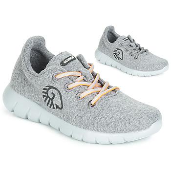 kengät Naiset Matalavartiset tennarit Giesswein MERINO RUNNERS Grey