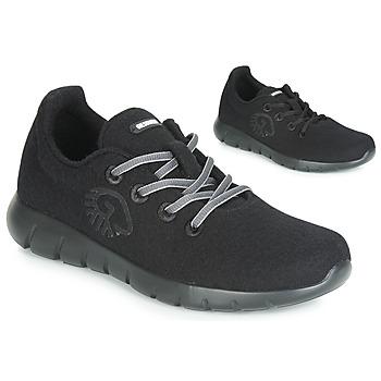 kengät Naiset Matalavartiset tennarit Giesswein MERINO RUNNERS Black