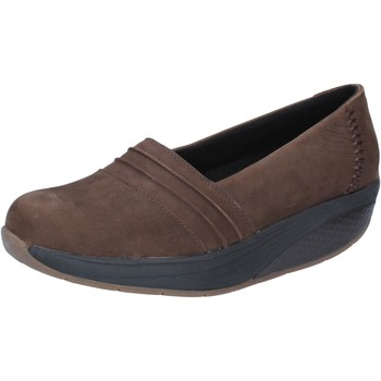 kengät Naiset Mokkasiinit Mbt slip on mocassini marrone nabuk performance BY686 Marrone