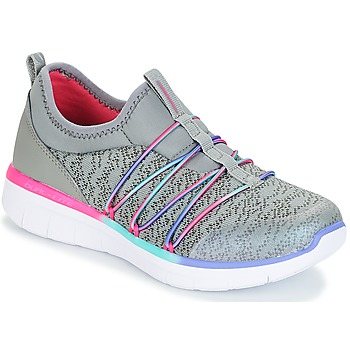 kengät Tytöt Fitness / Training Skechers SYNERGY 2.0 Grey