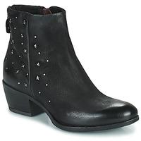 kengät Naiset Bootsit Mjus DALLY STAR Black