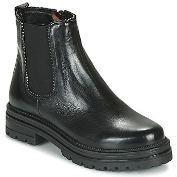 kengät Naiset Bootsit Mjus DOBLE CHELS Black