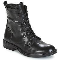 kengät Naiset Bootsit Mjus PAL LACE Black