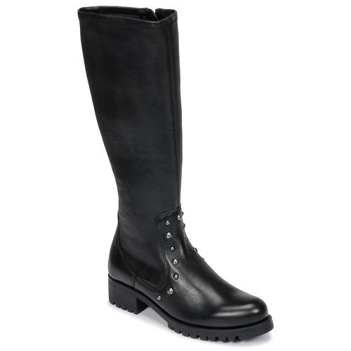 kengät Naiset Saappaat Unisa IKERI Black