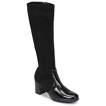 kengät Naiset Saappaat Unisa ORLANDO Musta