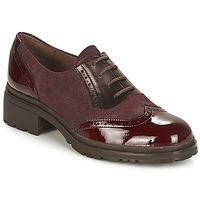 kengät Naiset Derby-kengät Wonders NAPHYA Bordeaux