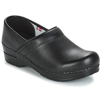 kengät Miehet Puukengät Sanita PROF Black