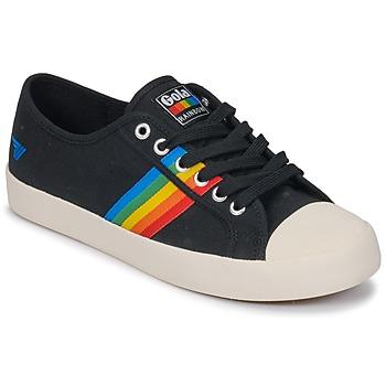 kengät Naiset Matalavartiset tennarit Gola Coaster rainbow White