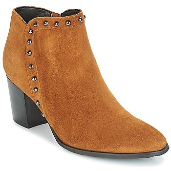 kengät Naiset Nilkkurit Myma POUTZ Camel