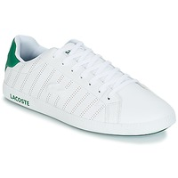 kengät Miehet Matalavartiset tennarit Lacoste GRADUATE 318 1 White / Green