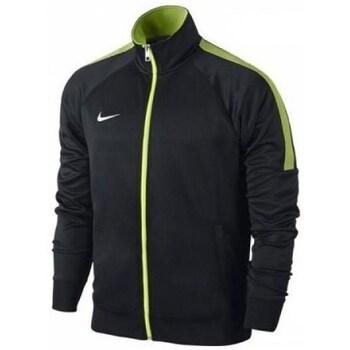 vaatteet Miehet Svetari Nike Team Club Trainer Jacket Mustat