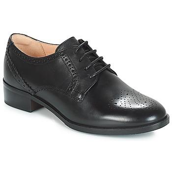 kengät Naiset Derby-kengät Clarks NETLEY ROSE Black