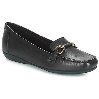 kengät Naiset Mokkasiinit Geox D ANNYTAH MOC Black