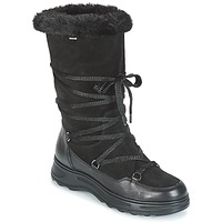 kengät Naiset Talvisaappaat Geox D HOSMOS B ABX Black