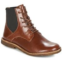 kengät Naiset Bootsit Kickers TITI Brown