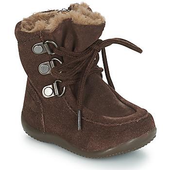 kengät Lapset Saappaat Kickers BAMARA Brown