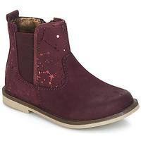 kengät Tytöt Bootsit Kickers MOON Bordeaux