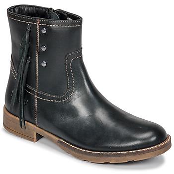 kengät Tytöt Saappaat Kickers MOLLY Black