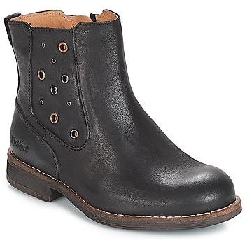kengät Tytöt Saappaat Kickers SMAD Black