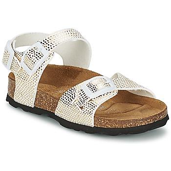 kengät Tytöt Sandaalit ja avokkaat Betula Original Betula Fussbett JEAN Python / Kulta