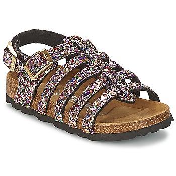 kengät Tytöt Sandaalit ja avokkaat Betula Original Betula Fussbett LEONA Pink / Monivärinen