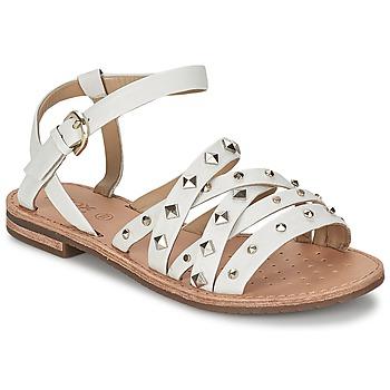 kengät Naiset Sandaalit ja avokkaat Geox JOLANDA E White