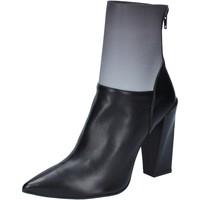 kengät Naiset Nilkkurit Gianni Marra BY766 Musta