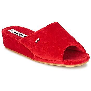 kengät Naiset Tossut Romika PARIS Red