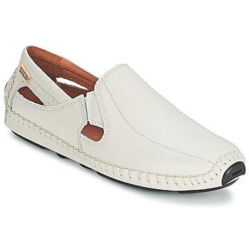 kengät Miehet Mokkasiinit Pikolinos JEREZ 09Z White