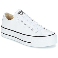 kengät Naiset Matalavartiset tennarit Converse CHUCK TAYLOR ALL STAR LIFT CLEAN OX White