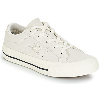 kengät Lapset Matalavartiset tennarit Converse ONE STAR OX White