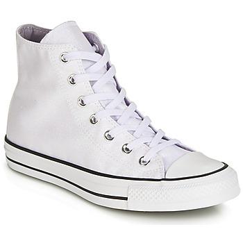 kengät Naiset Korkeavartiset tennarit Converse CHUCK TAYLOR ALL STAR HI White / White