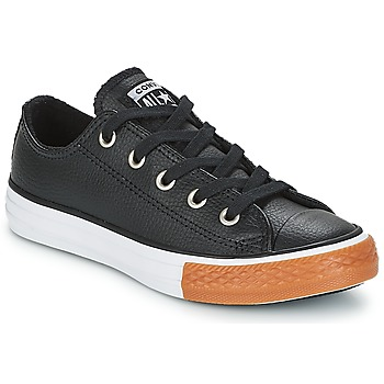 kengät Lapset Matalavartiset tennarit Converse CHUCK TAYLOR ALL STAR OX Black / White