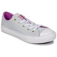 kengät Tytöt Korkeavartiset tennarit Converse CHUCK TAYLOR ALL STAR HI Teräs / anis / Fuksia / Glow / Valkoinen