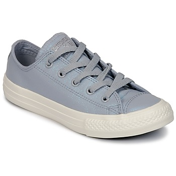 kengät Tytöt Matalavartiset tennarit Converse CHUCK TAYLOR ALL STAR OX Grey