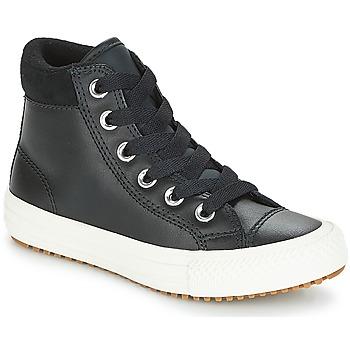 kengät Lapset Korkeavartiset tennarit Converse CHUCK TAYLOR ALL STAR PC  BOOT HI Black   White 4ef01b1e60