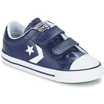 kengät Lapset Matalavartiset tennarit Converse STAR PLAYER EV V OX Sininen / Valkoinen