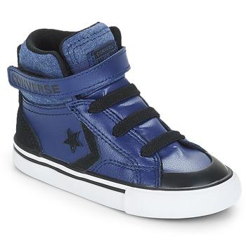 kengät Pojat Korkeavartiset tennarit Converse PRO BLAZE STRAP HI Blue